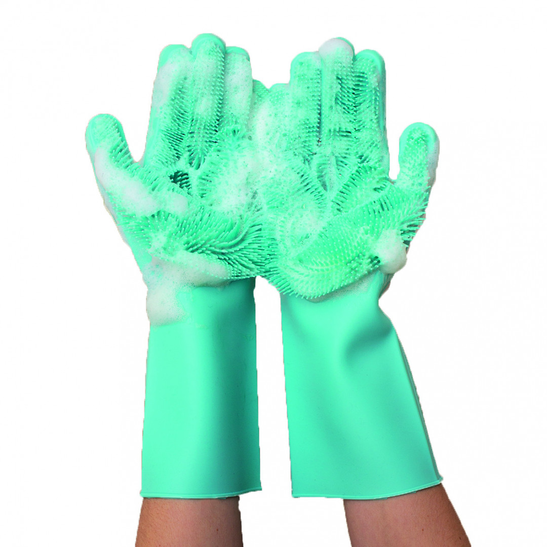 beige R/ésistant /à la chaleur Isolation murale 1 gant de cuisine antid/érapant /à rayures en silicone pour micro-ondes Pour cuisson PoHOVE Anti-br/ûlures