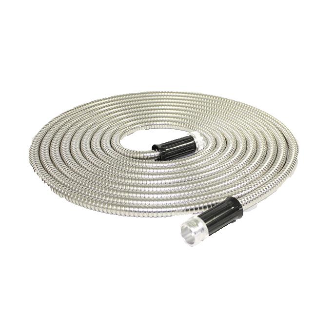 Douche pour Salle de Bain Lazmin Remplacement de Tuyau Flexible 59  en Acier Inoxydable 360 /° Anti-enroulement Noir Flexible de Douche Surface Lisse